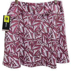 Eddie Bauer NWT Palm Kacey Faux Wrap Skirt